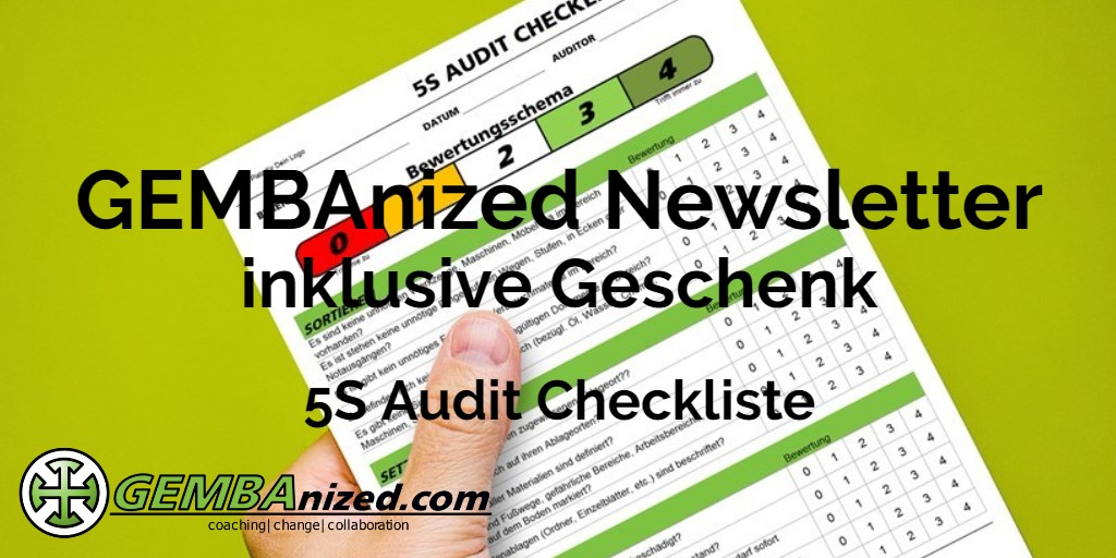 5S Audit Checkliste Download