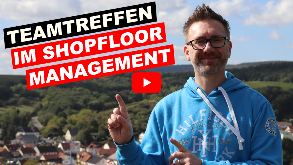 Teamtreffen im Shopfloor Management